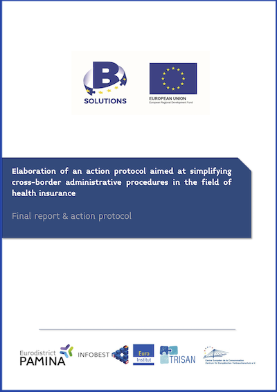 "Couverture du rapport final du projet ""B-Solutions"""