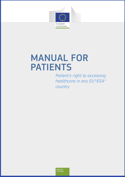 Couverture : Manual for patients